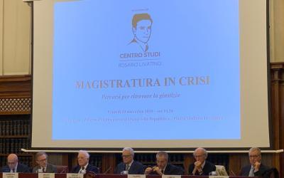 """Video integrale del convegno """"Magistratura in crisi. Percorsi per ritrovare la giustizia"""""""