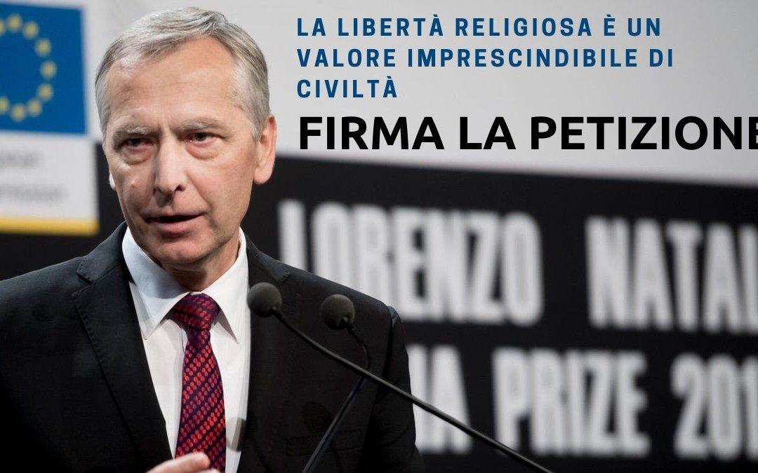Riconfermare ora Ján Figeľ, imprescindibile ambasciatore della libertà religiosa nel mondo