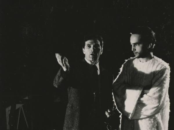 Pasolini e Enrique Irazoqui