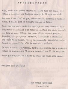 2 - Pasolini - Salvador, Brasile - 1990