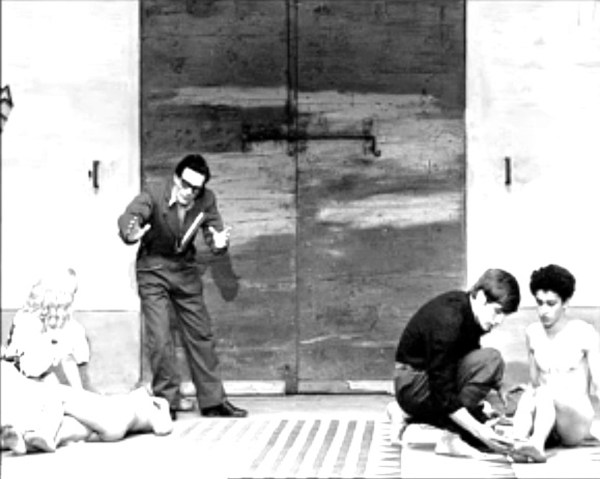 "Pasolini sul set di ""Salò"" (1975)"