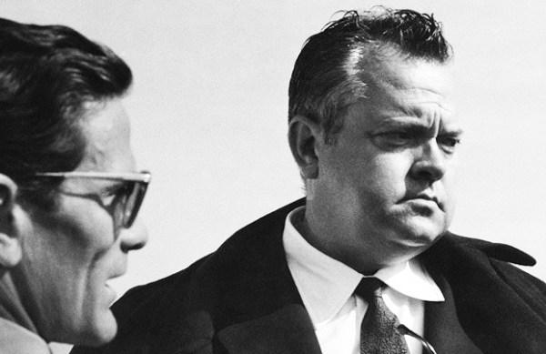 """Pasolini e Orson Welles sul set de """"La ricotta"""" (1963)"""