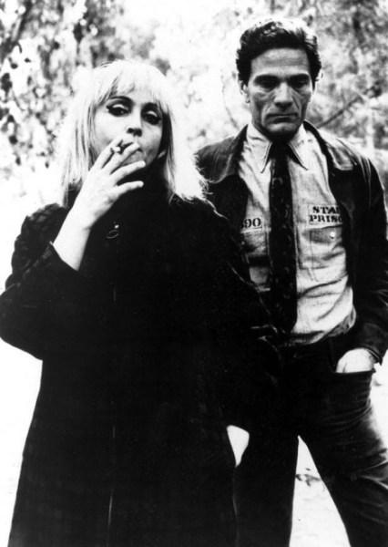 Laura Betti e Pasolini (1969). Foto di Elisabetta Catalano