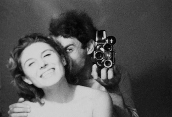 """""""In viaggio con Patrizi"""".  Nella foto Patrizia Vicinelli e Alberto Grifi"""
