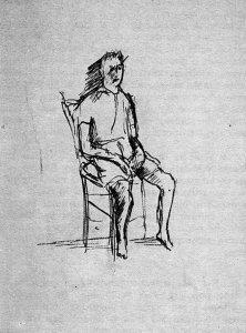 Pier Paolo Pasolini, Ragazzo seduto, 1942