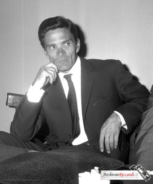Pier Paolo Pasolini (1961). Archivio Riccardi