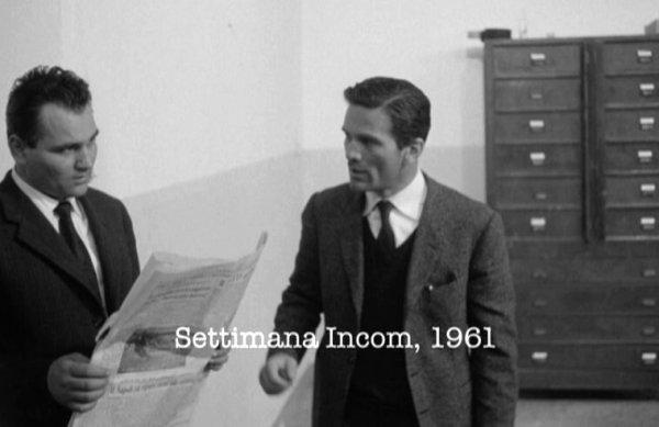 """Pasolini all''Ufficio di Polizia al tempo di """"Accattone"""" (1961)"""