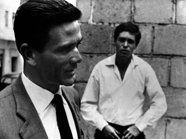 """Pasolini e Franco Citti al tempo di""""Accattone"""""""