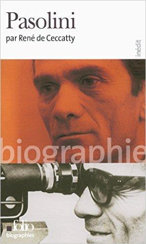 """Biographie"" sur PPP, di René de Ceccatty. Copertina"