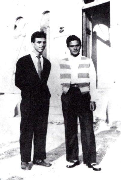 Nico Naldini e Pasolini nel 1947