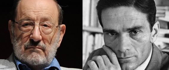 Umberto Eco e Pasolini