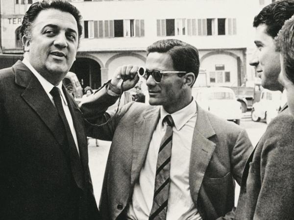"""Fellini e Pasolini si tempi di """"Accattone"""" (1961)"""