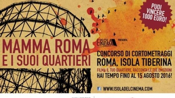 """""""Mamma Roma e i suoi quartieri"""" 2016. Manifesto"""