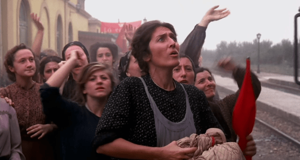 "Un fotogramma dal film ""Novecento"" (1976) di Bernardo Bertolucci"