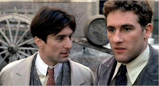 """Robert DeNiro e Gerard Depardieu in """"Novecento"""""""