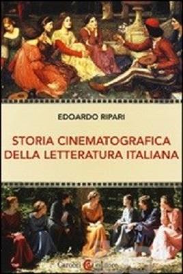 """""""Storia cinematografica della letteratura italiana"""". Copertina"""