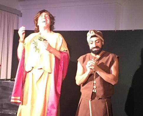 """Il """"Miles gloriosus"""" del Teatro di Calabria"""