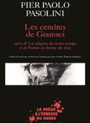 """Les cendres de Gramsci"" di Pasolini. Copertina"