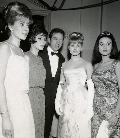 Mike Bongiorno conduttore del Festival di Sanremo del 1963