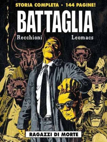 """""""Battaglia. Ragazzi di morte"""". Copertina"""