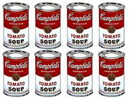 """""""Campbell's Soup Can"""" di Andy Warhol"""