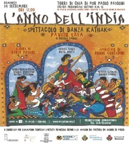 """""""L'Anno del'India"""". Locandina"""