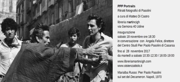 """""""PPP Portraits"""" alla Libreria Martincigh di Udine. Invito"""