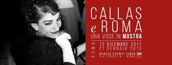 """Callas e Roma"". Locandina"