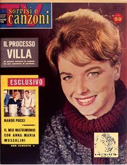 """""""Tv sorrisi e canzoni"""" del 20 novembre 1960"""
