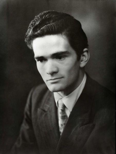 Pasolini 1947 foto di francesco krivec