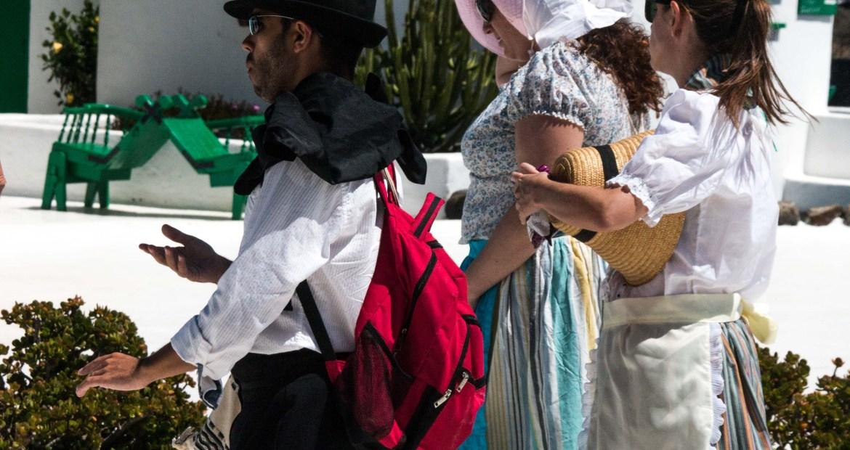 Dia de Canarias en el Monumento al Campesino