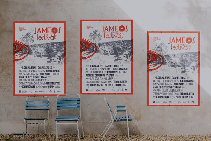 Jameos Music festival 2017 Cartel