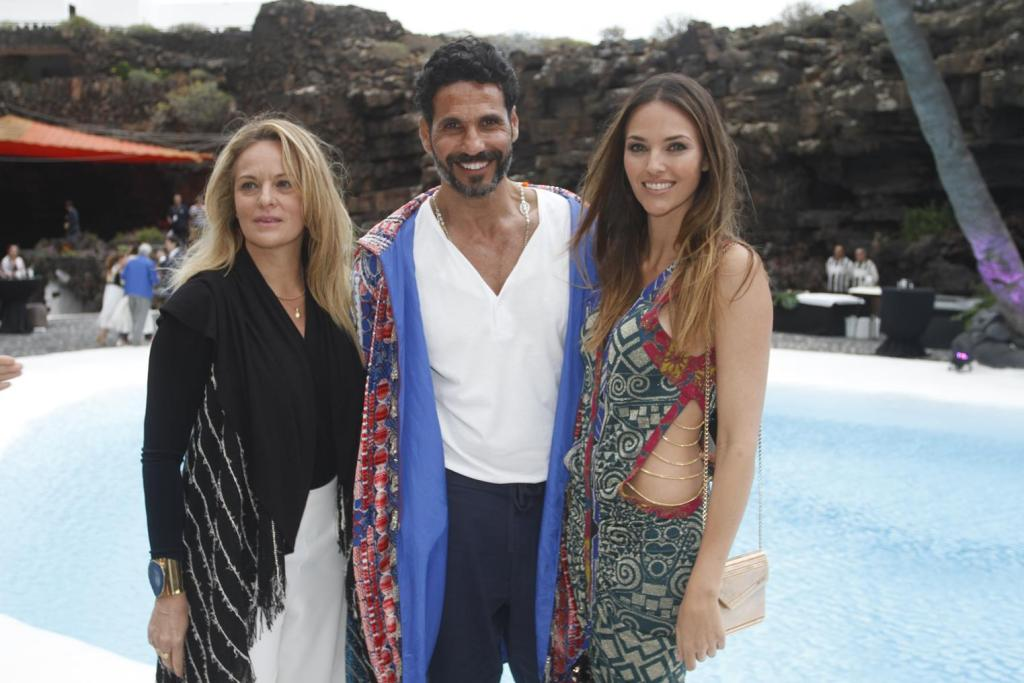 Helen Lindes, Oscar Higares en Lanzarote Fashion Weekend