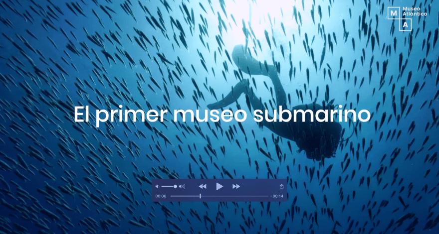 Campaña de Inbound marketing Museo Atlántico