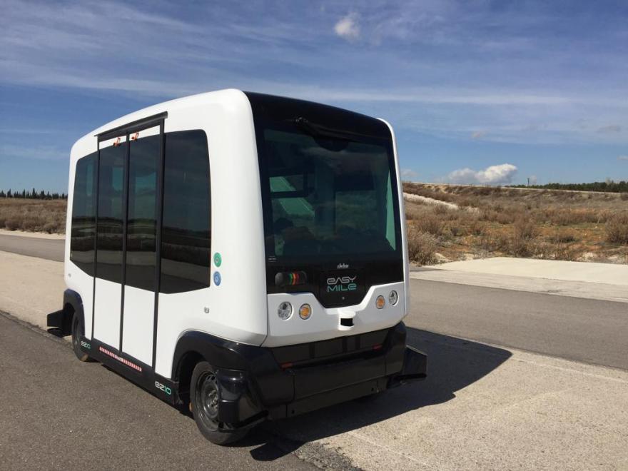 CITIES TIMANFAYA, conducción autónoma