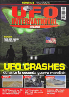 UFO International Magazine agosto 2015