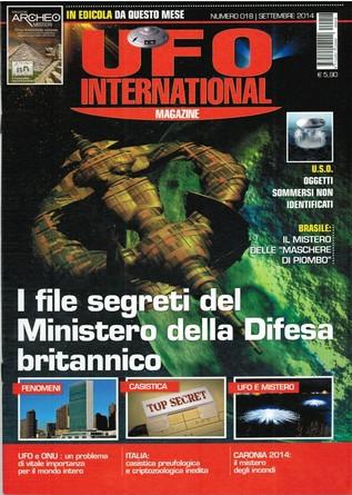 UFO International Magazine – settembre 2014