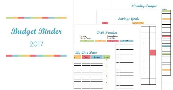 Budget Binder Printables «