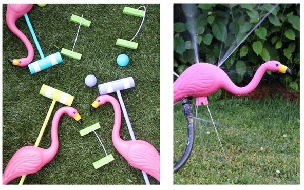 flamingo diys