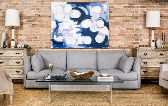 harper sofa interior define