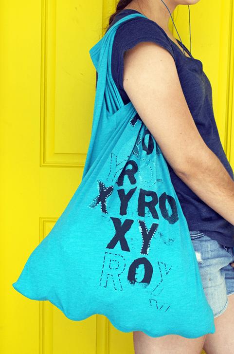 recyled tshirt bag