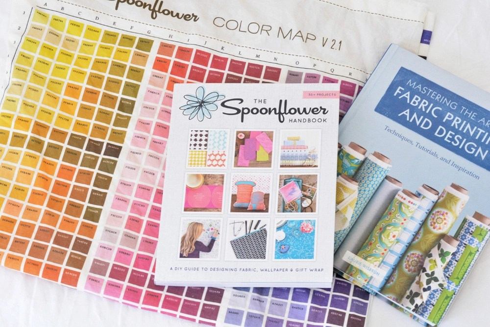 color chart fabric design books
