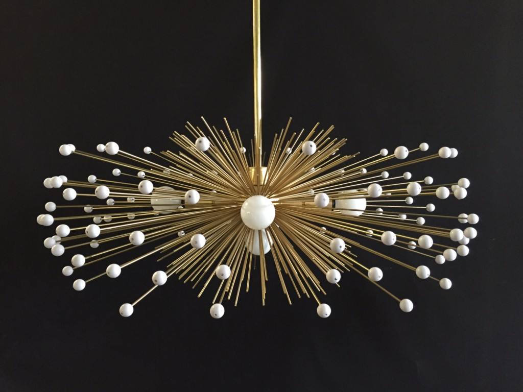urchin chandeliers