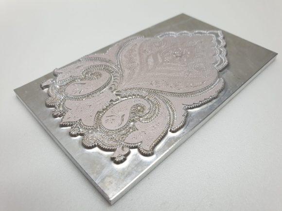Magnesium Letterpress printing plate