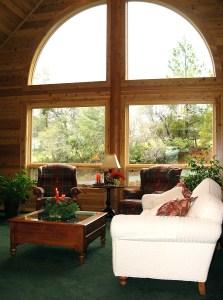 Rough & Ready Living Room Window
