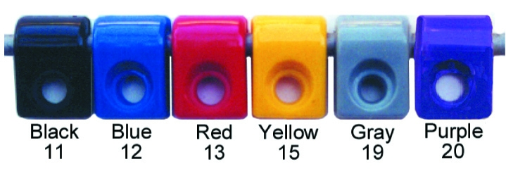 Made4You Products T-Clamp Color Code