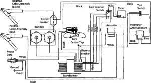1JYU1 Dayton 60402250130 Amp 612 Volt Battery Charger