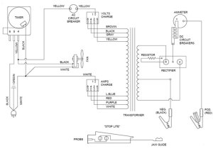6001A Associated Battery Charger Parts List