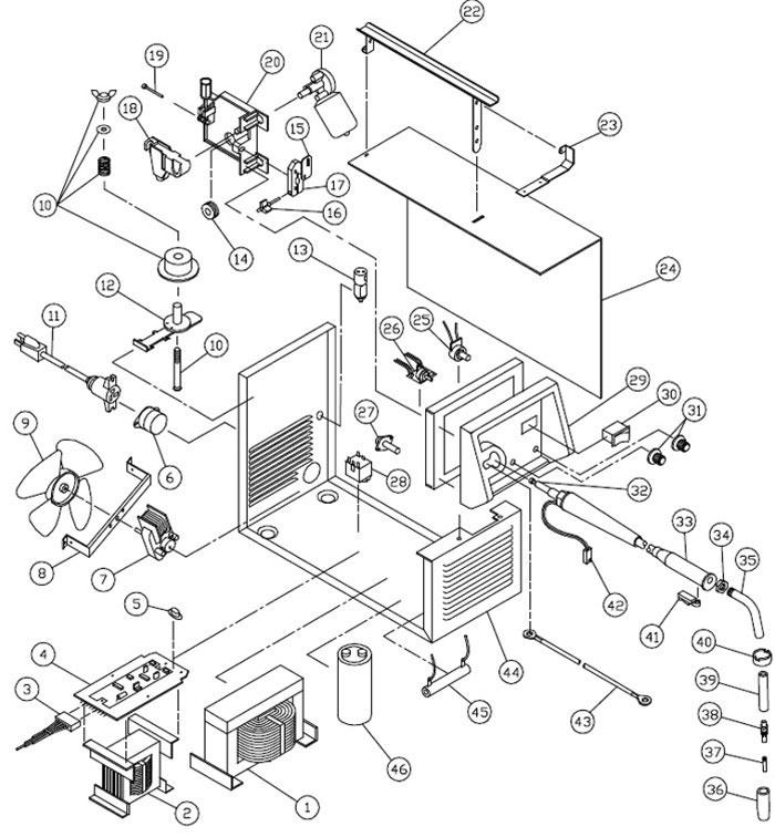Diagram Dayton Welder Parts Wiring Diagram Diagram Schematic Circuit