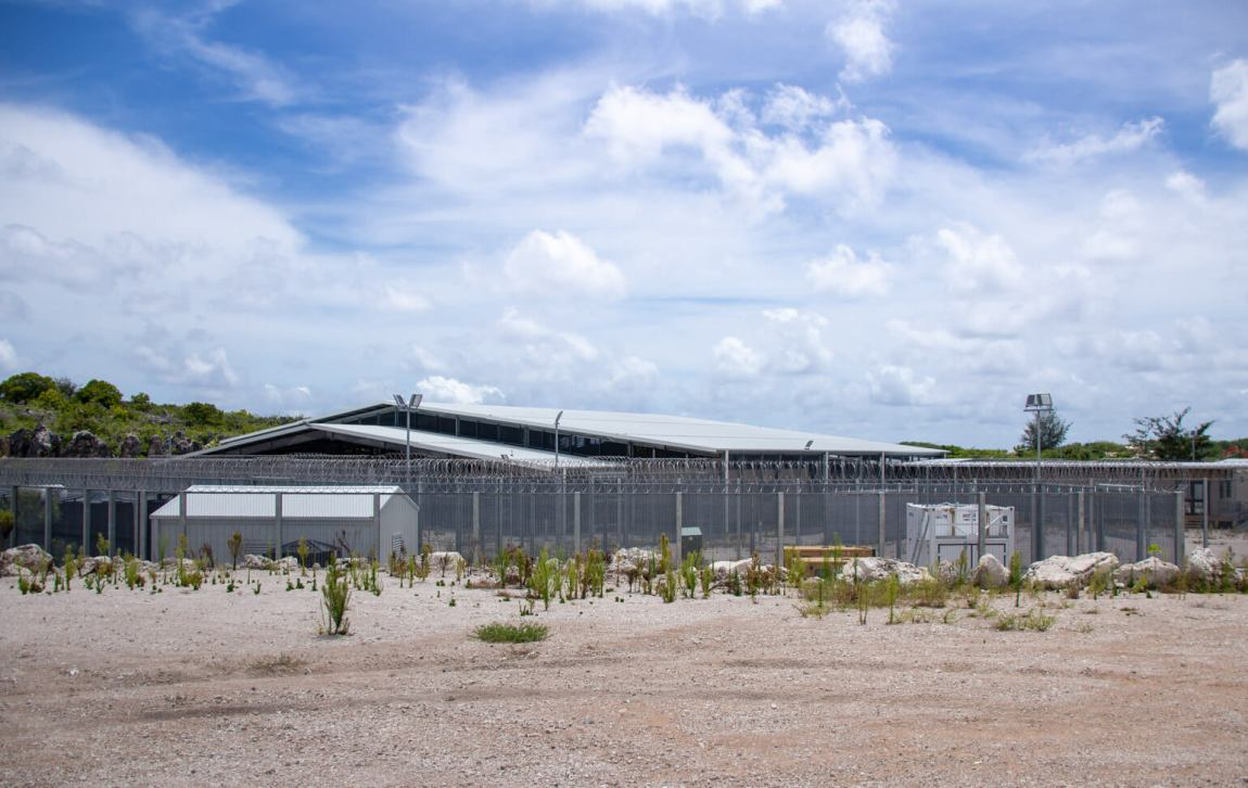 A new prison in Nauru.